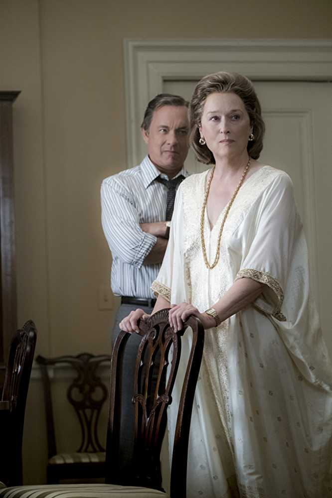 Tom Hanks, Meryl Streep - putting things (and people) in place