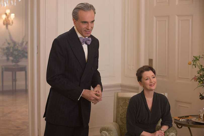 Daniel Day-Lewis, Lesley Manville- their fabric will tear apart soon