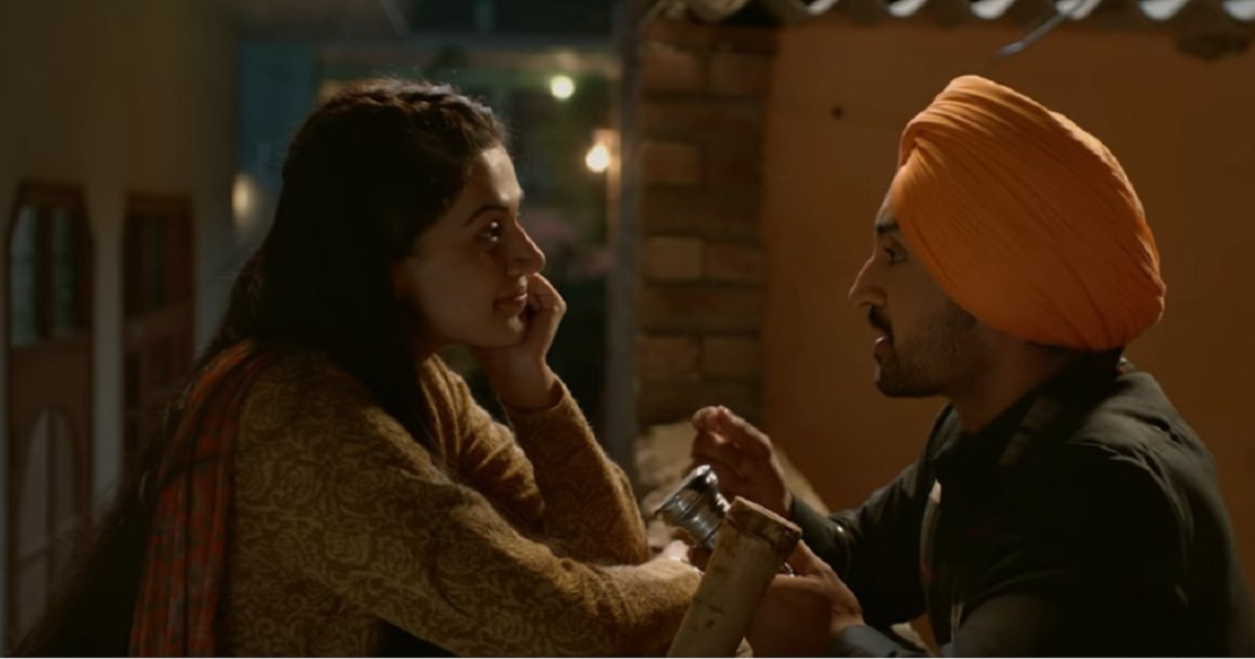 Tapsee Pannu and Diljit Dosanjh step up for love