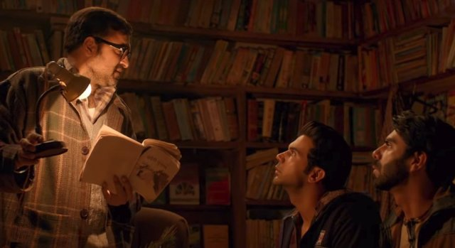 Pankaj Tripathi, Rajkummar Rao, and Aparaijt Khurana are Chanderi's bookworms.