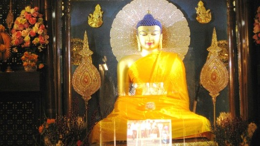 Seeking the Enlightened Lord Buddha in Bodhgaya