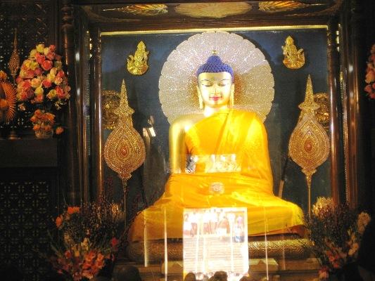 Bodhgaya-Buddha