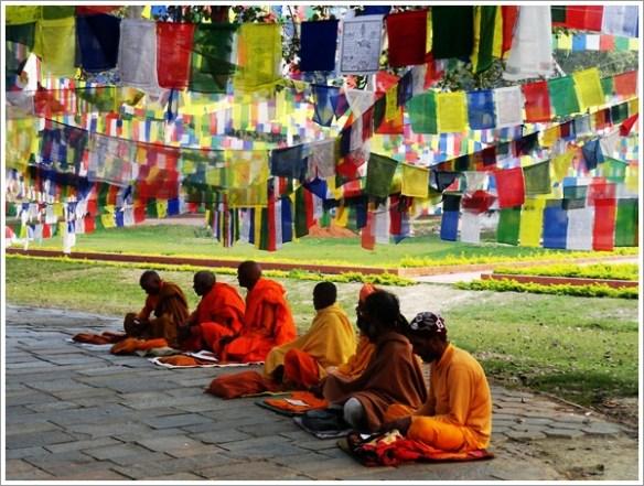Lumbini Nepal Monk