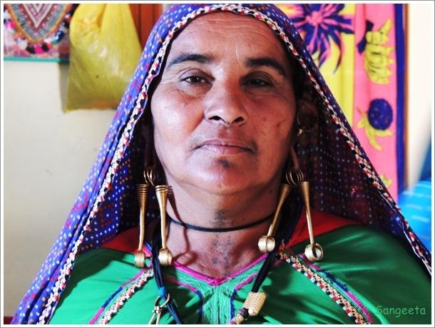 Rabari Embroidery Woman