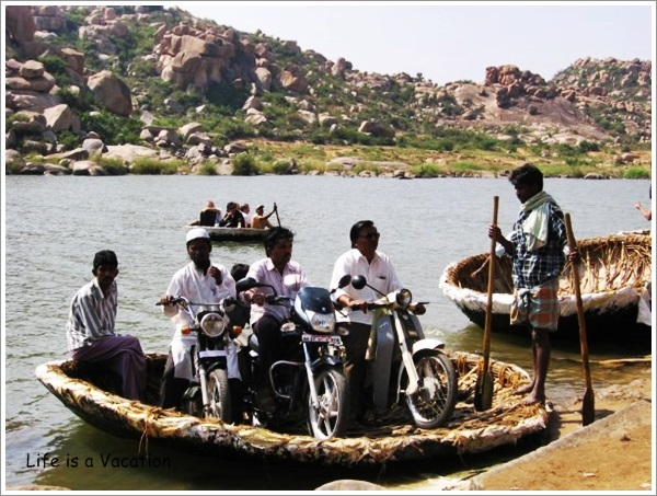 Coracle Ride in Hampi