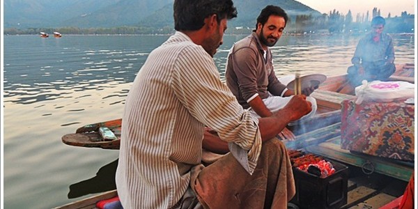 Taste of the Dal Lake, Srinagar, India