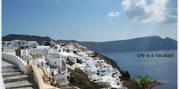 Sights, Smell and Tastes from Santorini, Greece
