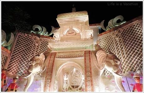 Kolkata Pandal Tridhara