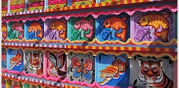 Art on the Go- Truck Art from India