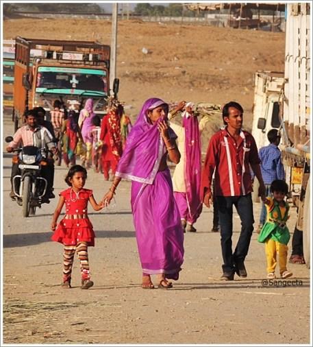 Pushkar Fair Rajasthan Family