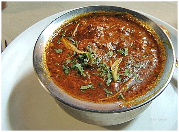 Tastes from Rajasthan - Lal Maas
