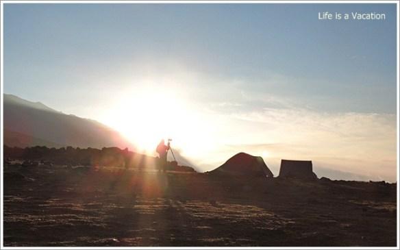 Gangbal and Nundkol Harmukh Sunrise
