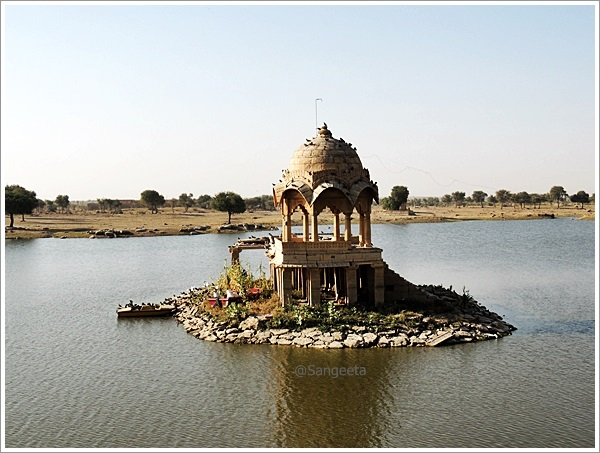Jaisalmer Gadsisar Lake Birds