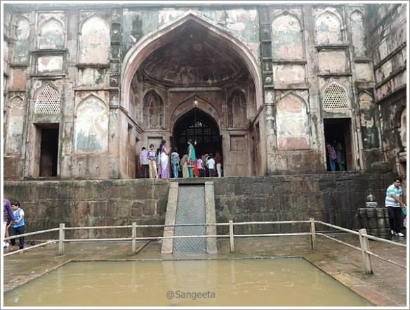 Mandu Nilkanth Temple Entrance