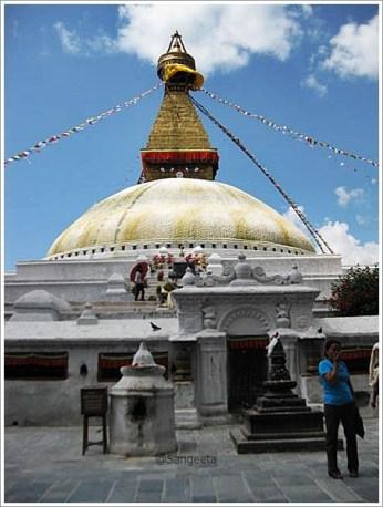 Boudnath Stupa Kathmanu Nepal