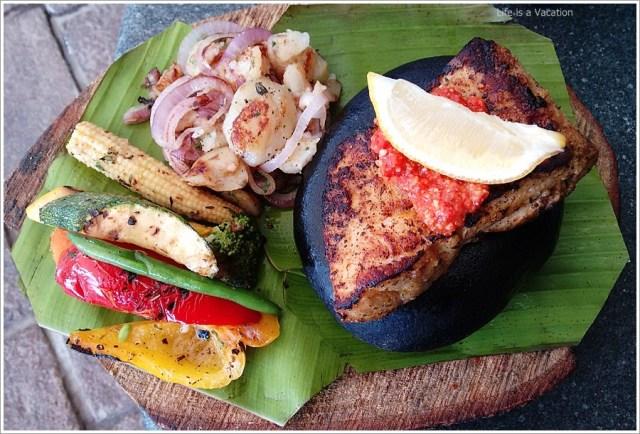 Bangalore BigBrewsky Stone Grilled Fish