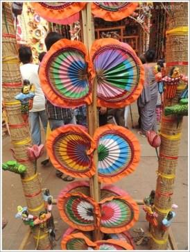 Forgotten Hand Fan from Bengal