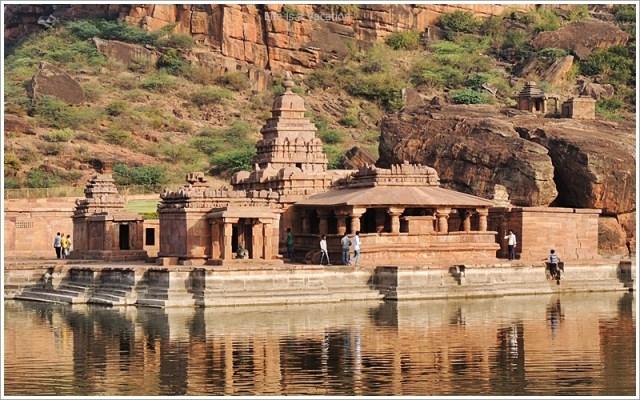 Badami Bhoothnath Temple Closeup
