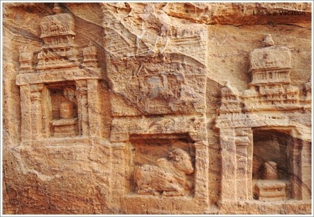 Badami Bhoothnath Wall Carving4