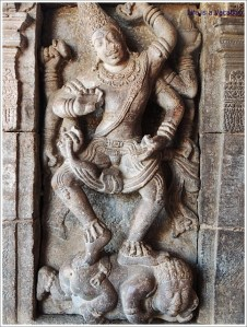 Pattadakal Wall Carving Nataraja
