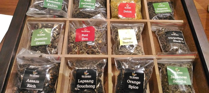 From Cup to Plate ~ Tea Story at Tea Trails