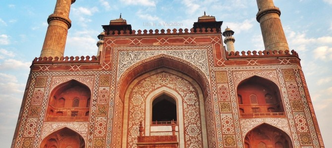 Sikandra ~ Where The Great Emperor Akbar is laid to rest