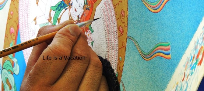 Norbulingka Institute near Dharamshala showcases Tibetan Art