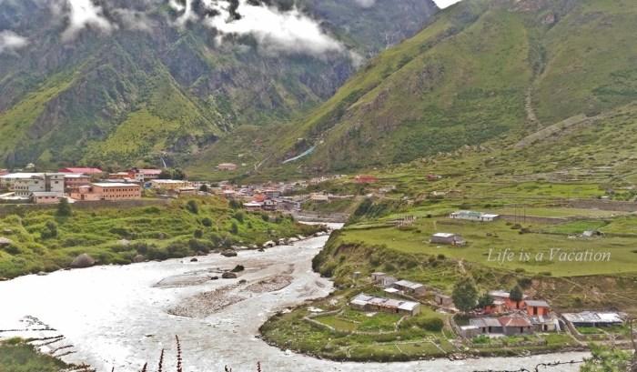 Alaknanda River-Mana