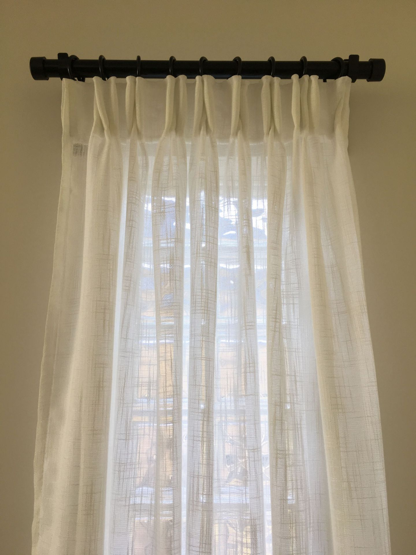 DIY: Easy Pinch Pleat Curtains - Life Is Better At Home