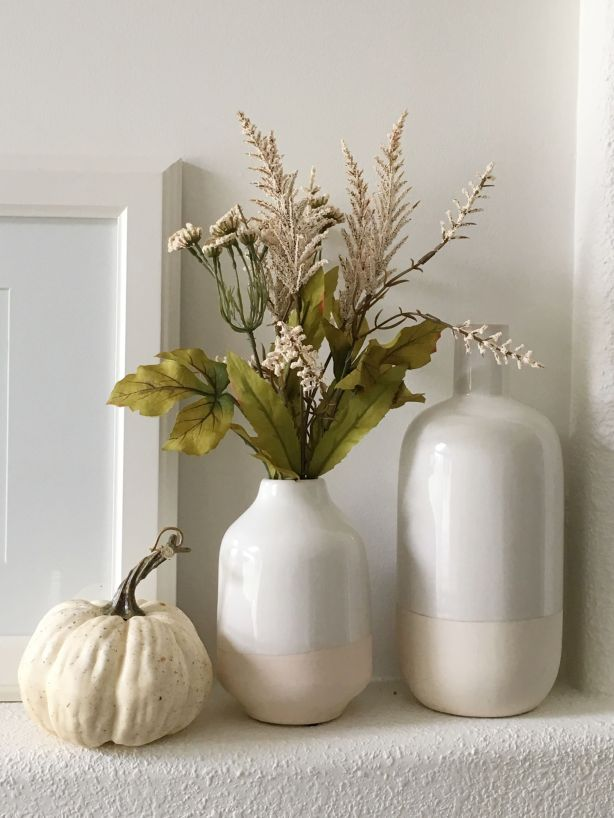 Modern Traditional Fall Living Room 7