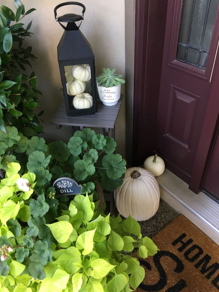 Simply Festive Fall Porch Decorating 11