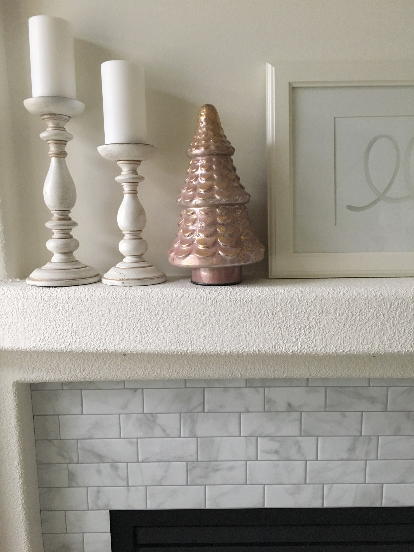 Smart Tiles DIY Fireplace Makeover - Life Is Better At Home