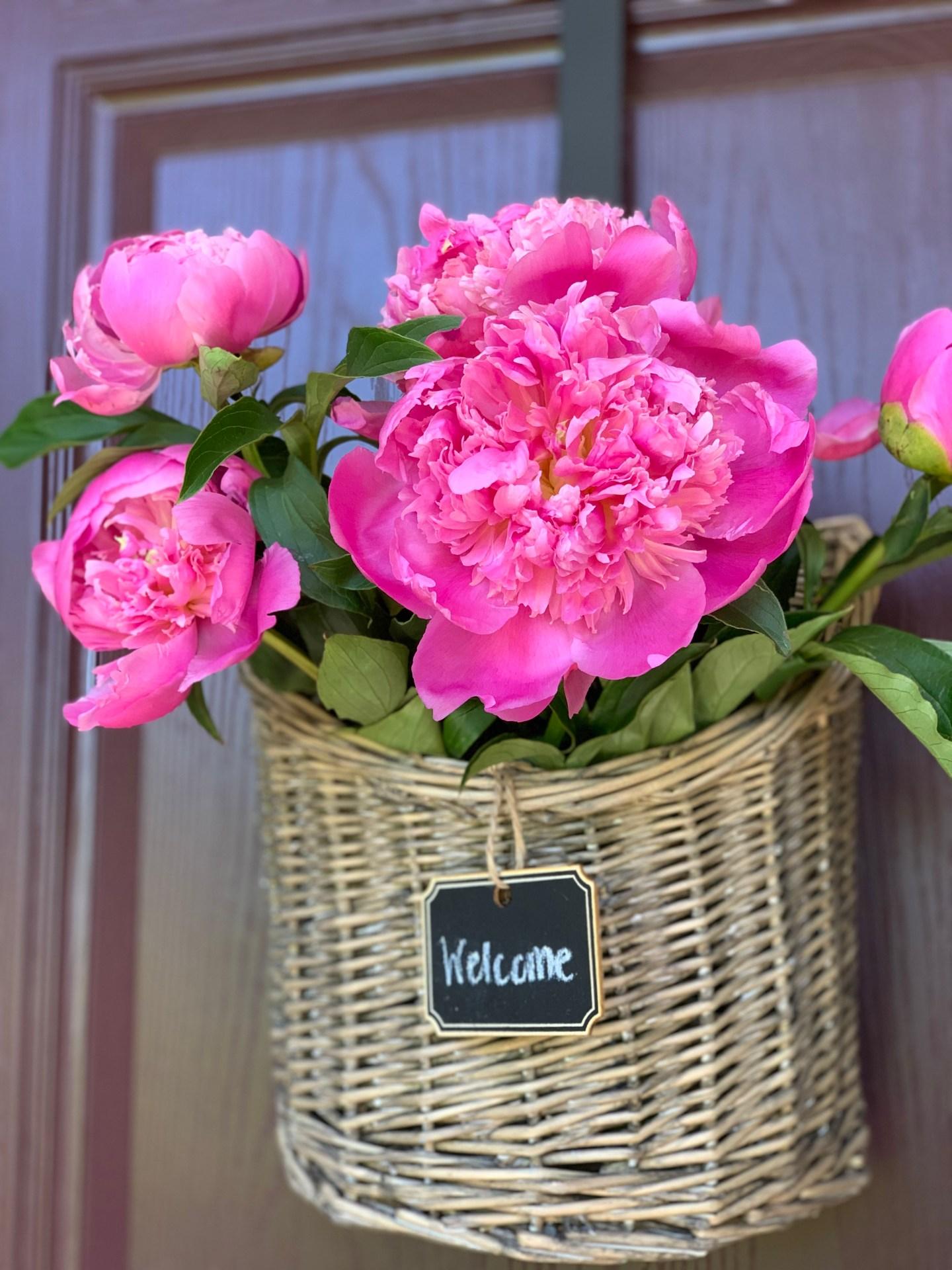 Basket Door Wreath 4 Ways