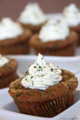 Spinat Käse Muffins