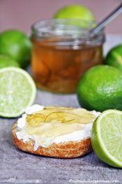 Limetten- oder Caipi-Gelee