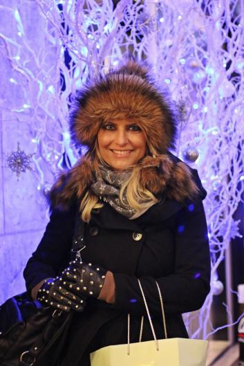 Weihnachts-Shopping mit Macarons im Tütchen :-)
