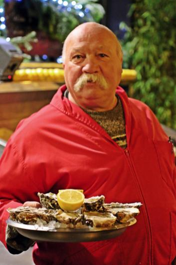 Der Austernmann :-)