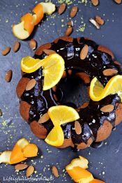 Orangen-Mandel-Kuchen