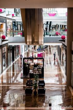 In einem der vielen Einkaufszentren