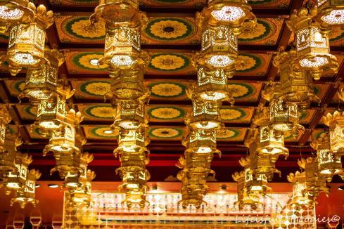 Ein Tempel in Chinatown