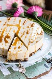 Healthy Rhubarb Cake