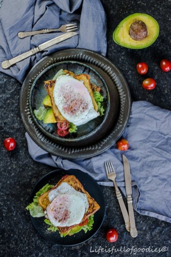 Herzhafter French Toast für FOODIES FOR SAILORS