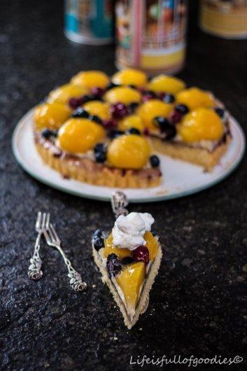 Ein Obstkuchen wie früher und neue Backformen