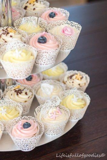 Cupcake Hochzeitstorte Life Is Full Of Goodies