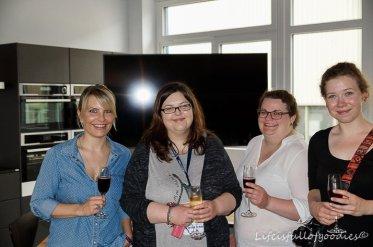 Mit Anita, Tina und Ina