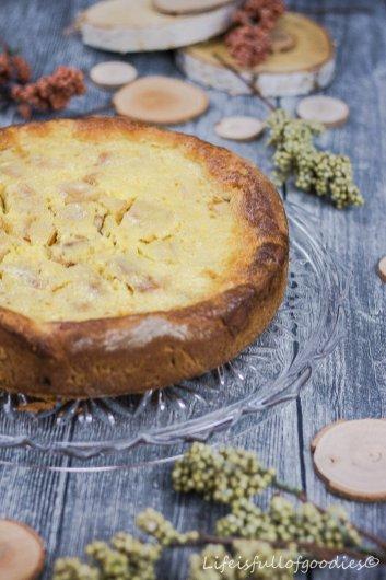 Bratapfelrahmkuchen