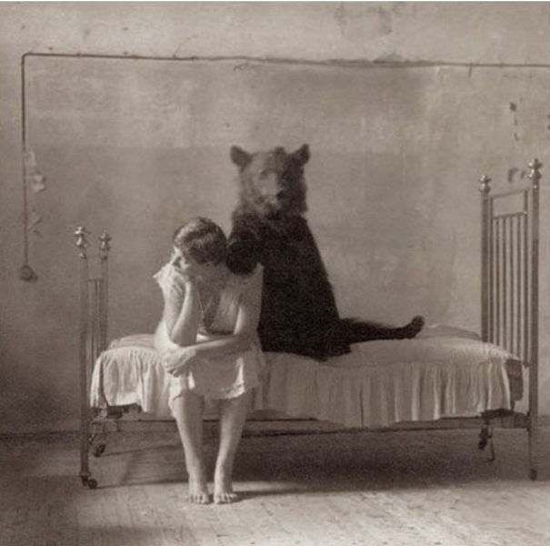 a-girl-and-her-bear