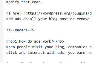 how to put ads on a blog4