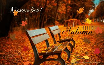 free-cute-fall-november-2016-desktop-wallpaper