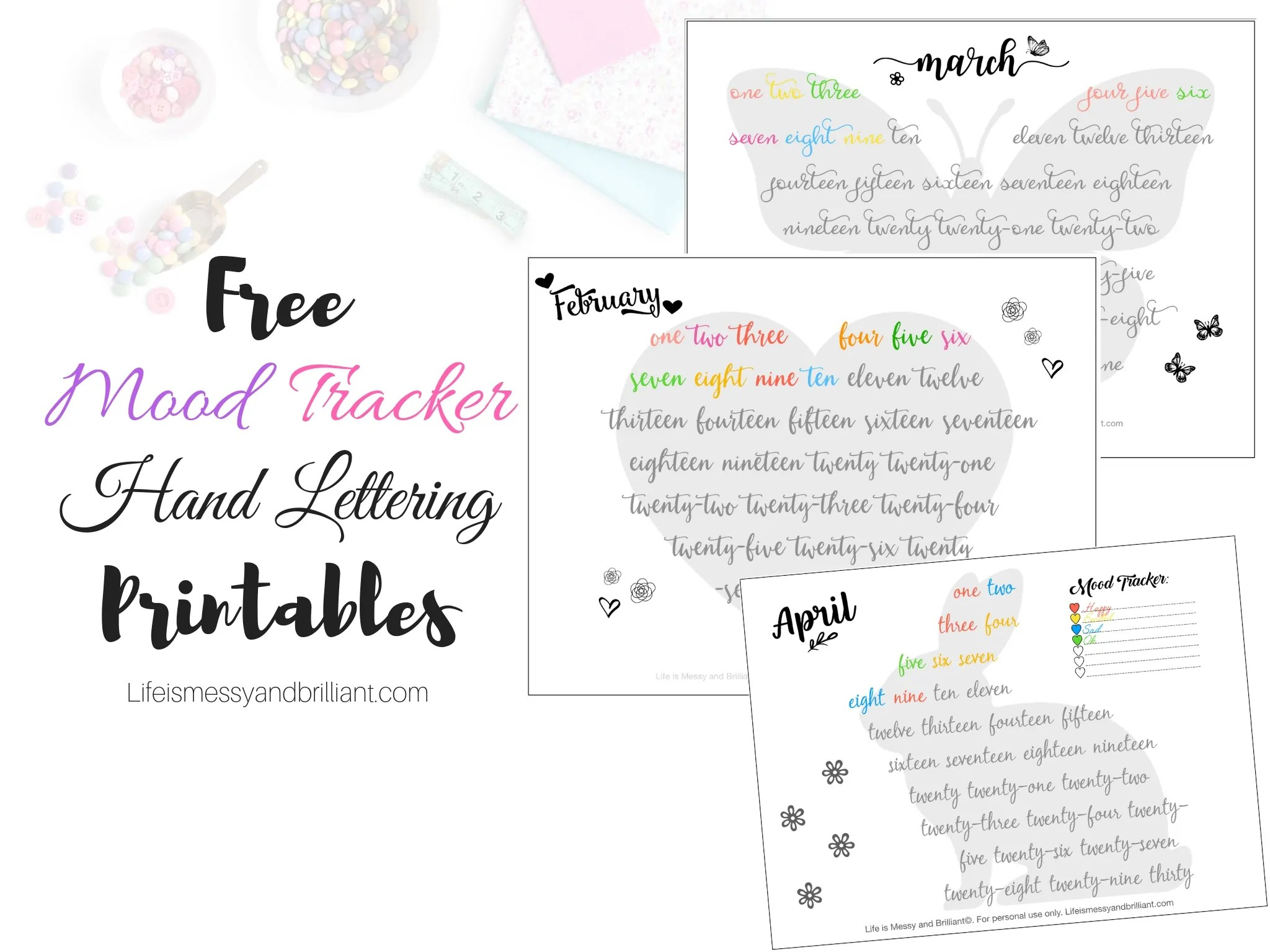 The Best Free Mood Tracker Printable